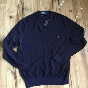 Polo By Ralph Lauren Cotton/Cashmere Sweater XXL